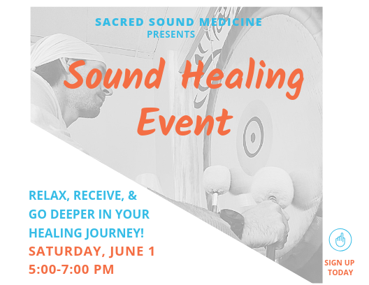 Sound Healing Event